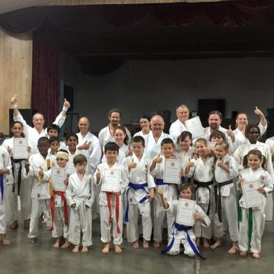 Shotokan Karate Grading Photo 2015